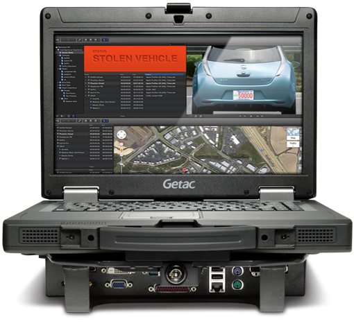 Getac S400 Semi-Rugged Notebook Vehicle Dock